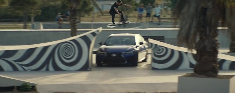 Lexus Hoverboard Amazing in Motion screengrab 07