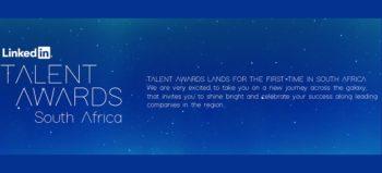 LinkedIn Talent Awards South Africa 2018 slider