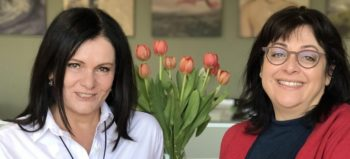 Lorraine Smit and Melina McDonald of Darling