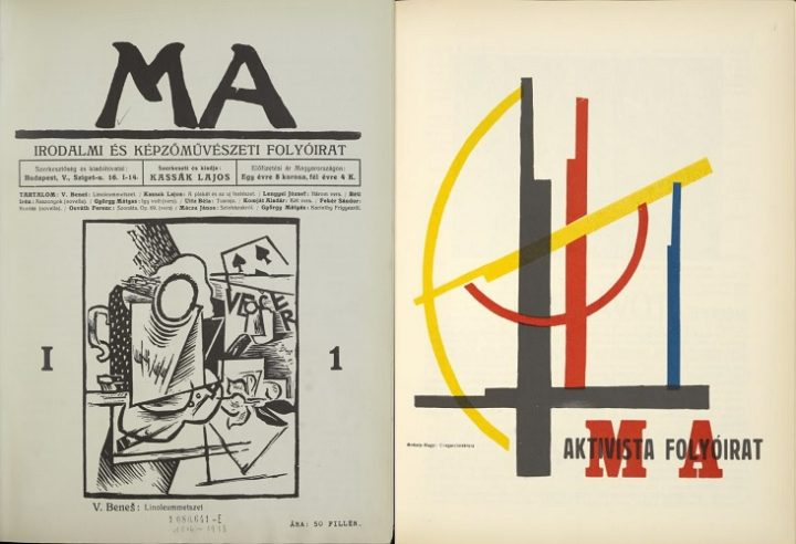 MA Today, issue 1-1, 1916 and issue 7-5, 1922