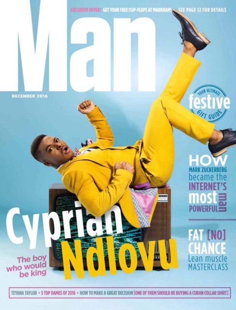 MAN, December 2016: Cyprian Ndlovu
