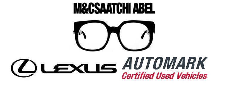 M&C Saatchi Abel logo, Lexus logo and Automark logo