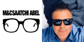 M&C Saatchi Abel logo and Gordon Ray
