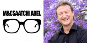 M&C Saatchi Abel logo and James Cloete