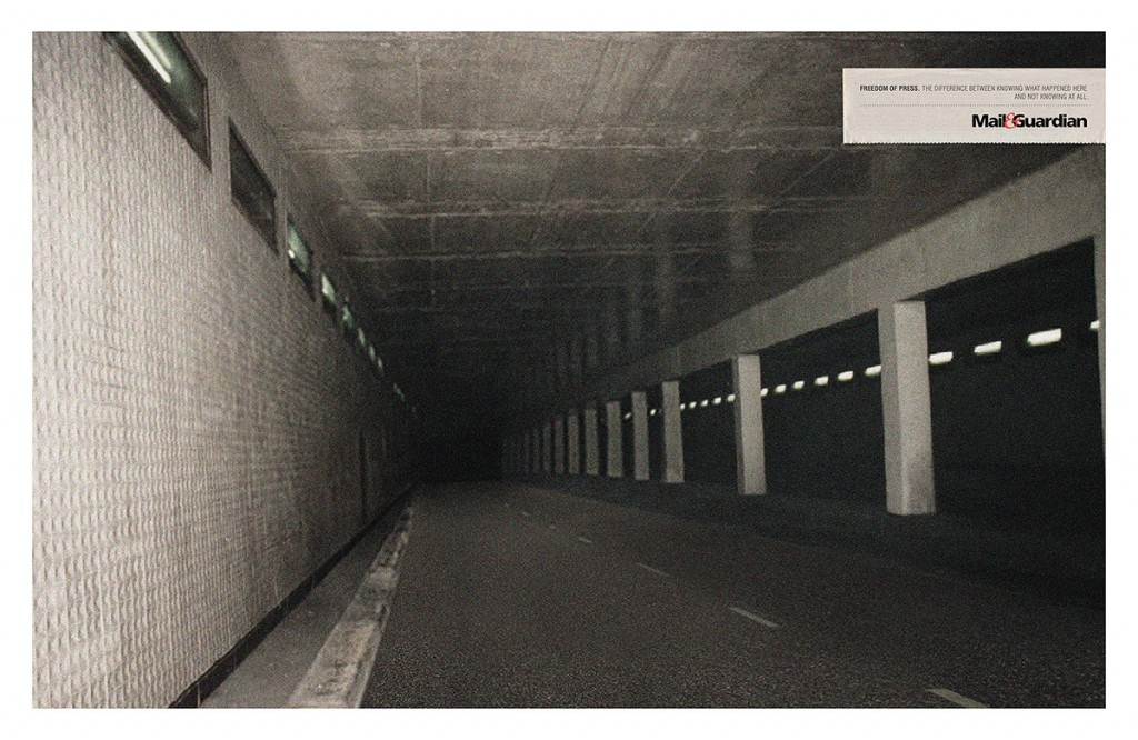 M&G Freedom is Knowing - Diana Tunnel