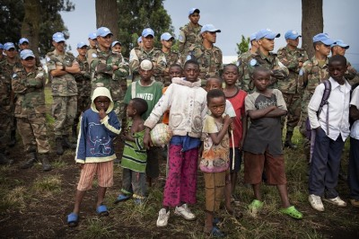 MONUSCO Peacekeepers Help Launch Soccer Schools in Goma, DRC by United Nations Photo, Flickr