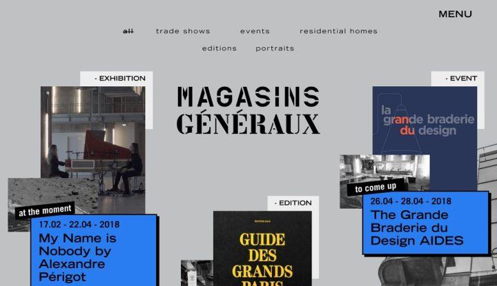 Magasins Generaux online, April 2018