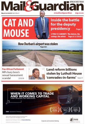 Mail & Guardian, 24-30 May 2019