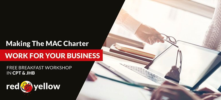 Making the MAC Charter work for your business free breakfast