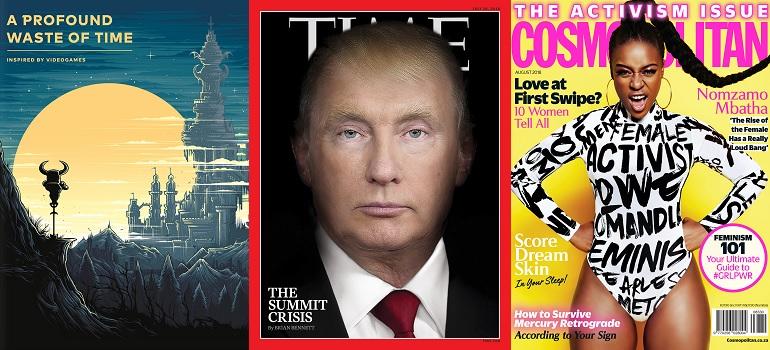 MarkLives Cover Stories 27 July 2018