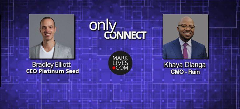 MarkLives Only Connect Podcast episode 7 Khaya Dlanga