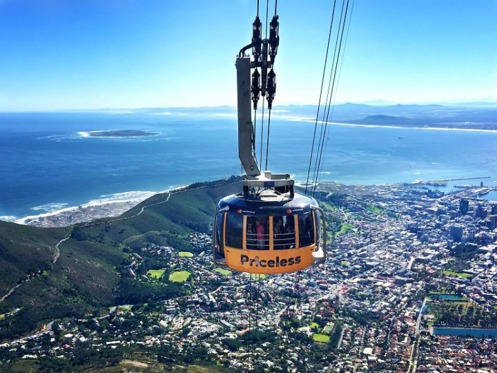 Mastercard sponsorship of Table Mountain cable car