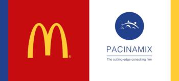 McDonald's South Africa logo and Pacinamix logo