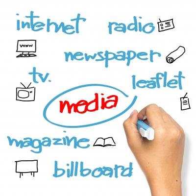 Media on Whiteboard by patpitchaya courtest of FreeDigitalPhotos.net
