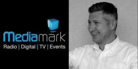 Mediamark logo and Wayne Bischoff