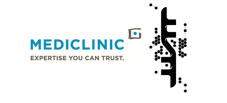 Mediclinic logo and FoxP2 logo
