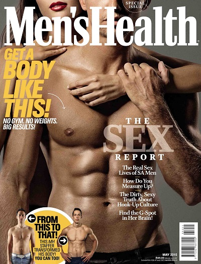 Men's Health South Africa, May 2015: Sex Report Issue