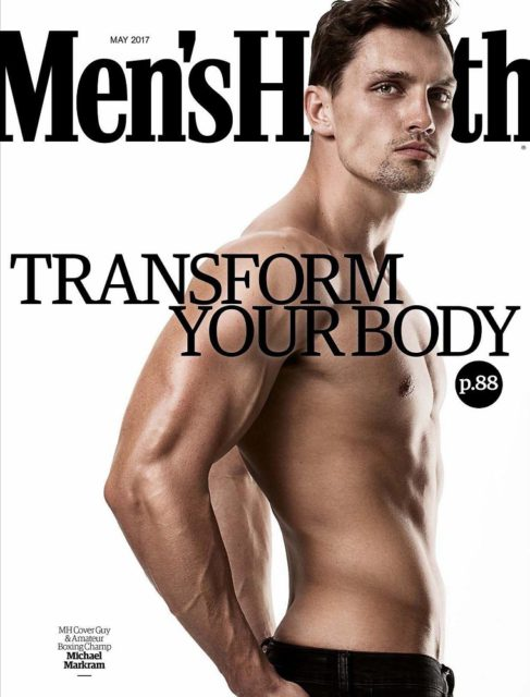 Men's Health South Africa, May 2017 - Michael Markram