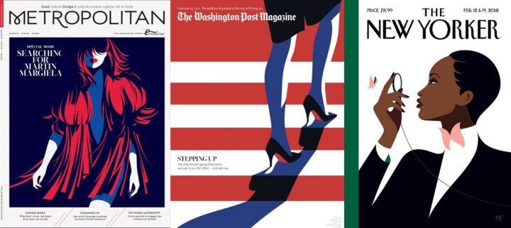 Metropolitan Mar 2018, The Washington Post Magazine 18 Feb 2018 & New Yorker 12 & 19 Feb 2018