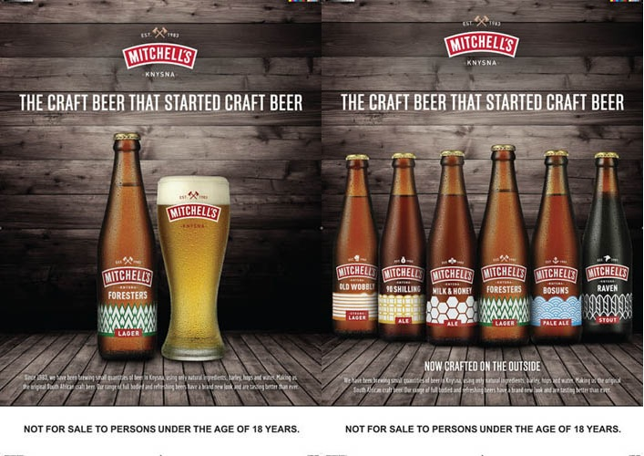 Mitchells Beer campaign by Watson Ferguson