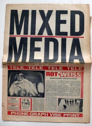 Mixed Media, issue 0, March 1969