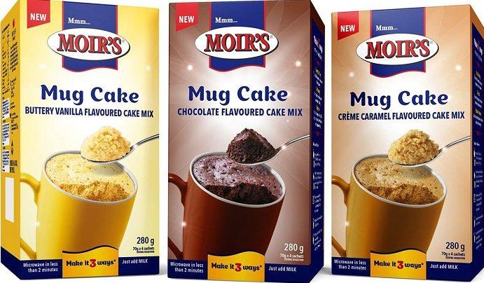 Moirs Mug Cake pack shot