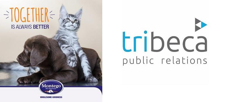 Montego Pet Nutrition and Tribeca PR logo