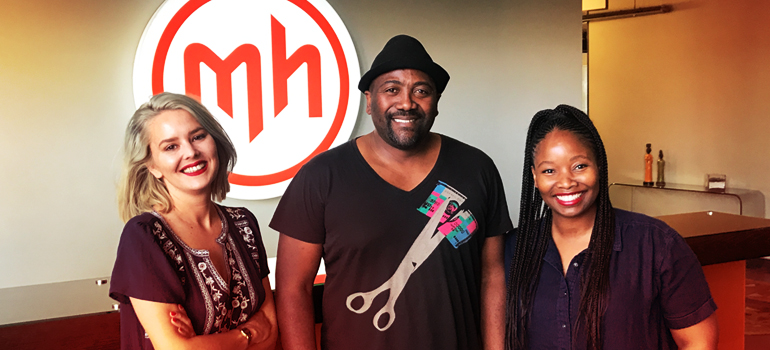 Mortimer Harvey: Kelly-Page Howell, Ntsiki Nukwa and Katlego Moutlana