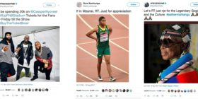 Most retweeted SA tweets 2017