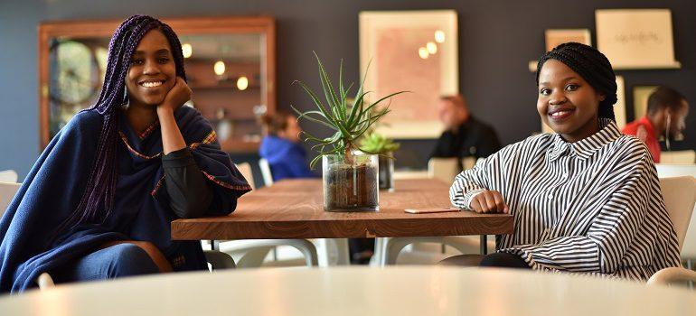 Mukondi Ralushayi and Nkgabiseng Motau