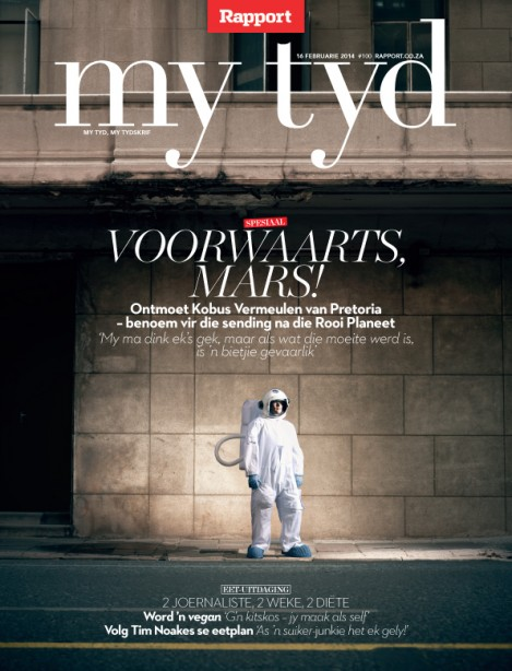 My Tyd (Rapport), 16 February 2014 — penultimate edition