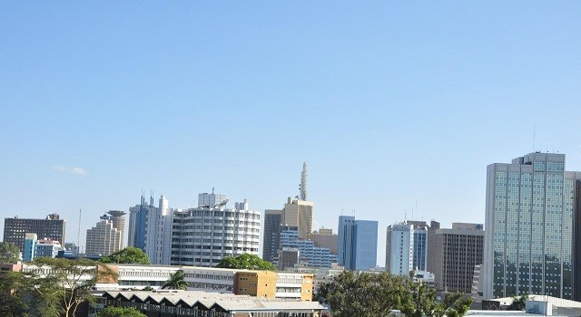 Nairobi skyline from BBC Studios. Pic courtesy of Wikipedia.