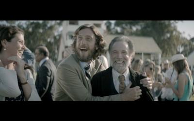"Nedbank ""Reins"" TVC screengrab: ecstatic owner and horse whisperer"