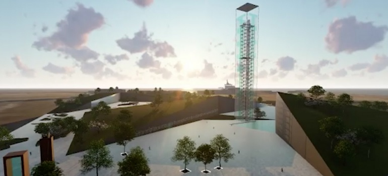 Nelson Mandela Bay Tower of Light concept