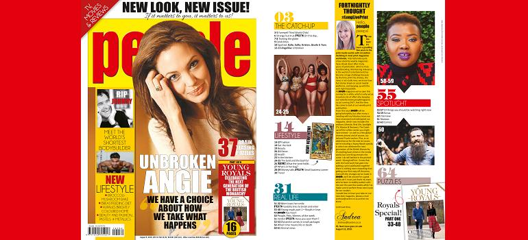 New-look People magazine