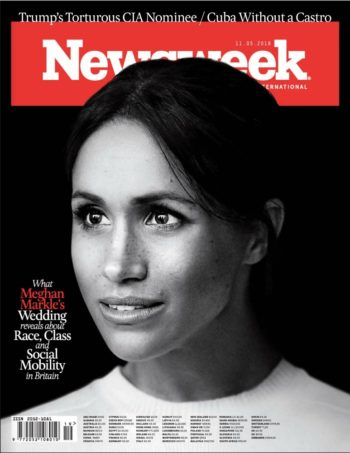 Newsweek, 11 May 2018 - Meghan Markle