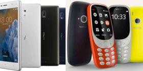 Nokia 3 and Nokia 3310