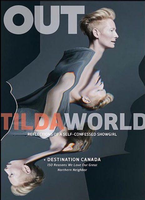Out, November 2016: Tilda Swinton
