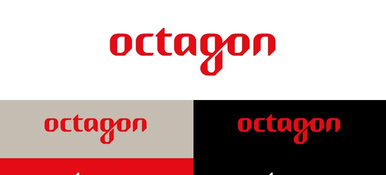 Octagon new identity logo