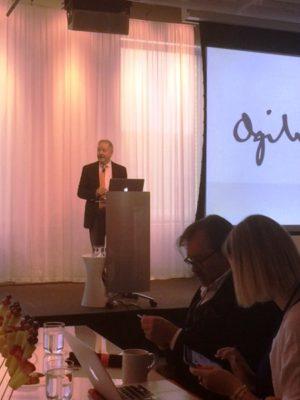 Ogilvy global CEO, John Siefert