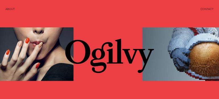 Ogilvy homepage 5 June 2018