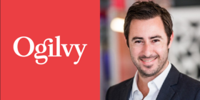 Ogilvy logo and Luca Gallarelli