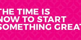 Old Mutual: The time is now to start something great (pink)