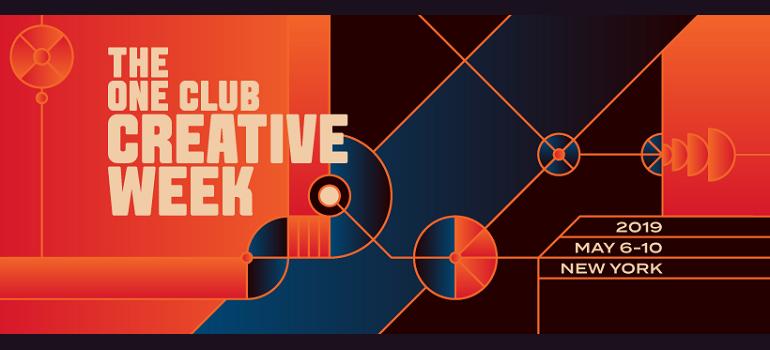 One Club Creative Week 2019