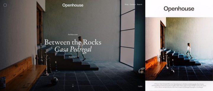 Openhouse, online and print, June 2018