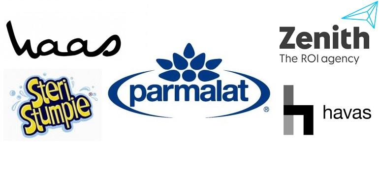 Parmalat and assorted logos