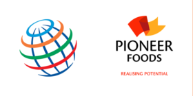 PepsiCo logo and Pioneer Foods logo