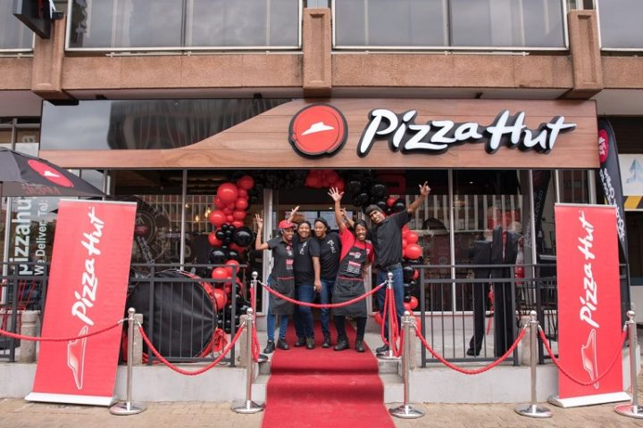 Pizza Hut, Ghandi Square, South Africa