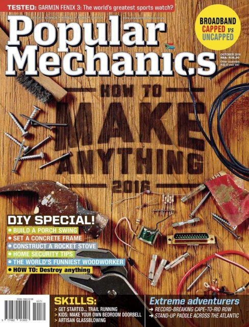 Popular Mechanics, October 2016