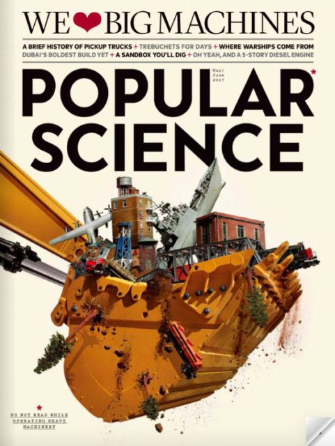 Popular Science, May-June 2017